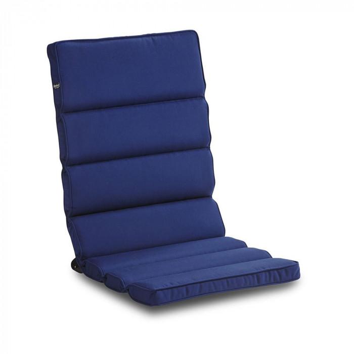 Muskö lounge dyna blå